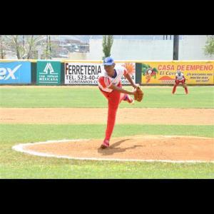 El espigado lanzador Joan Oviedo es una de las esperanzas azules con más futuro