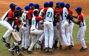 Cuba Sub 15 campeón 2014