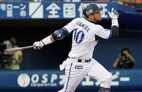 El Nº 10 del Yokohama es un dolor de cabeza para pitchers zurdos y derechos