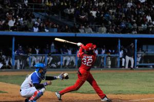 Víctor V. Mesa es uno de los líderes del equipo. (Foto: Juan Moreno)