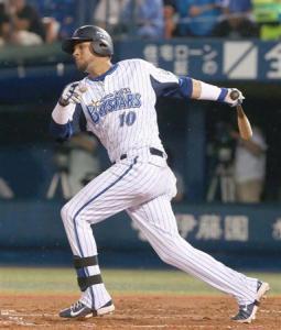 Yulieski bateó un doblete en su despedida de japón