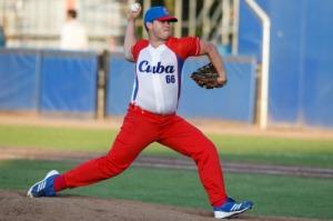 Jorge Hernández con el CUBA