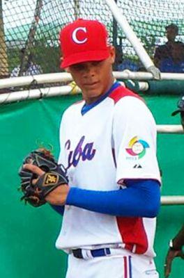 Yoan López aspira seriamente a un puesto en la MLB