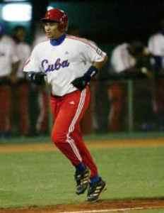 Frederich Cepeda con el Cuba