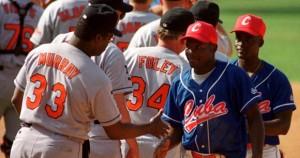 El Cuba vs Los Orioles de Baltimore