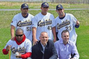 Y. Gurriel, Alexei Bell, Ismel Jiménez, y Y. Manduley juegan en Canadá