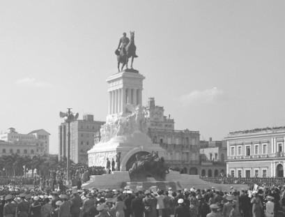 Monumento a Máximo Gómez en La Habana