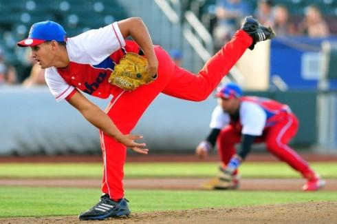 Norge Luis Ruiz. Un pitcher prometedor