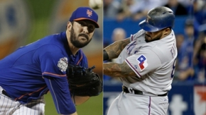 Matt Harvey y Prince Fielder