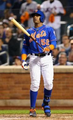 Yoenis Céspedes feliz con los Mets